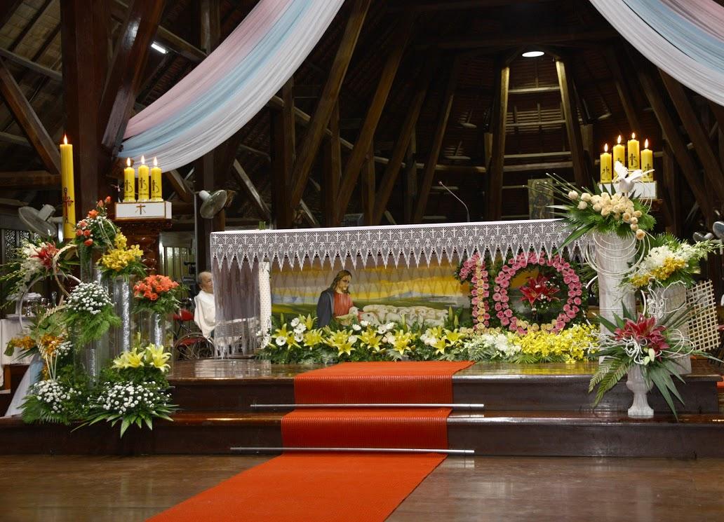 Thánh lễ Tạ ơn 10 năm Giám mục - ĐC Vinh Sơn Nguyễn Văn Bản